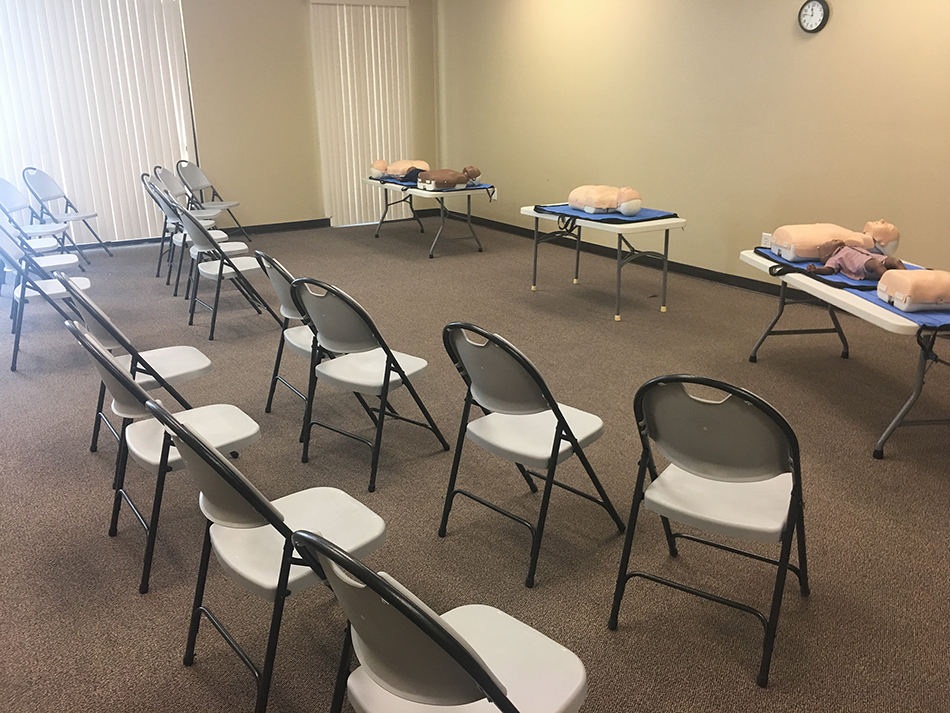 Group CPR certification classes
